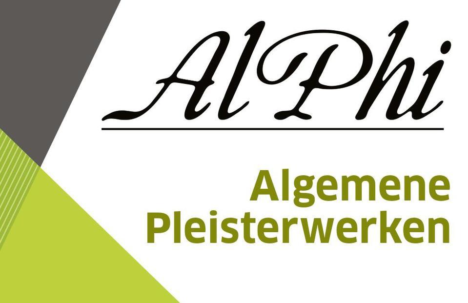 Logo Pleisterwerken AlPhi